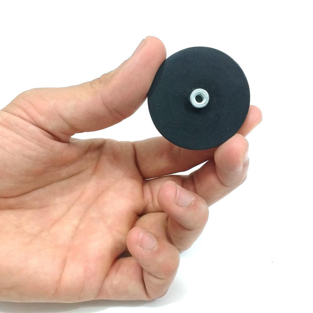 Fixador magnético para Adesivação