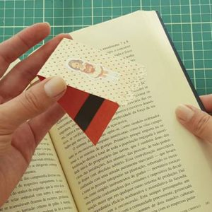 marcador de páginas magnético
